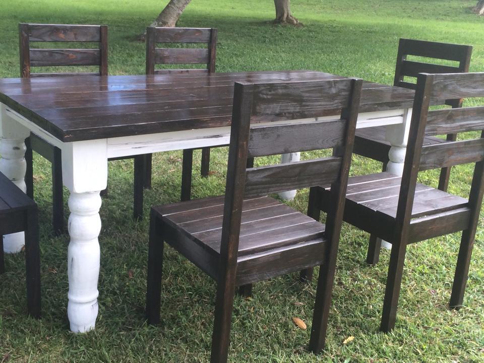 Robinson Farmhouse Table Elon S