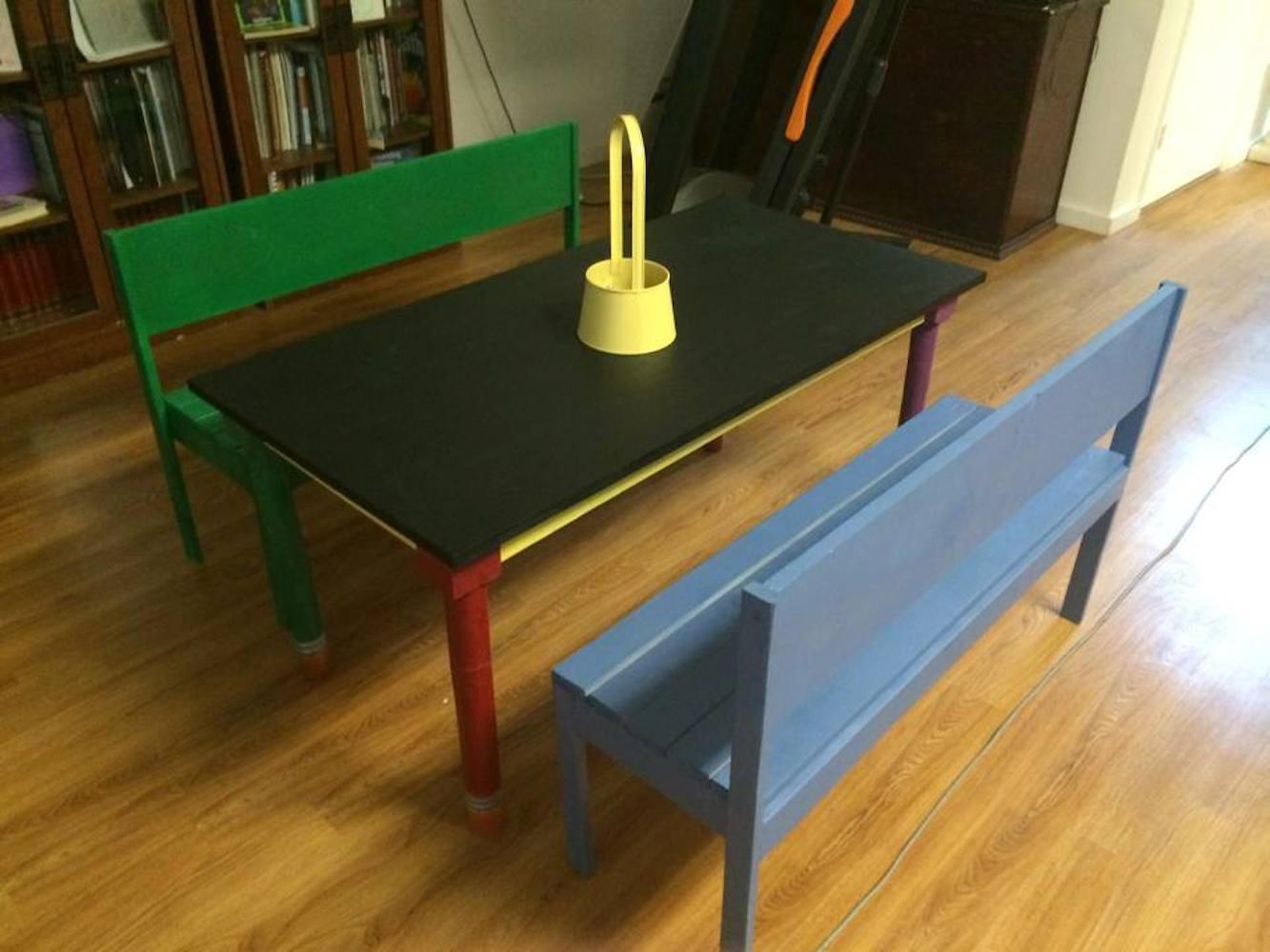 Kids Pencil Table