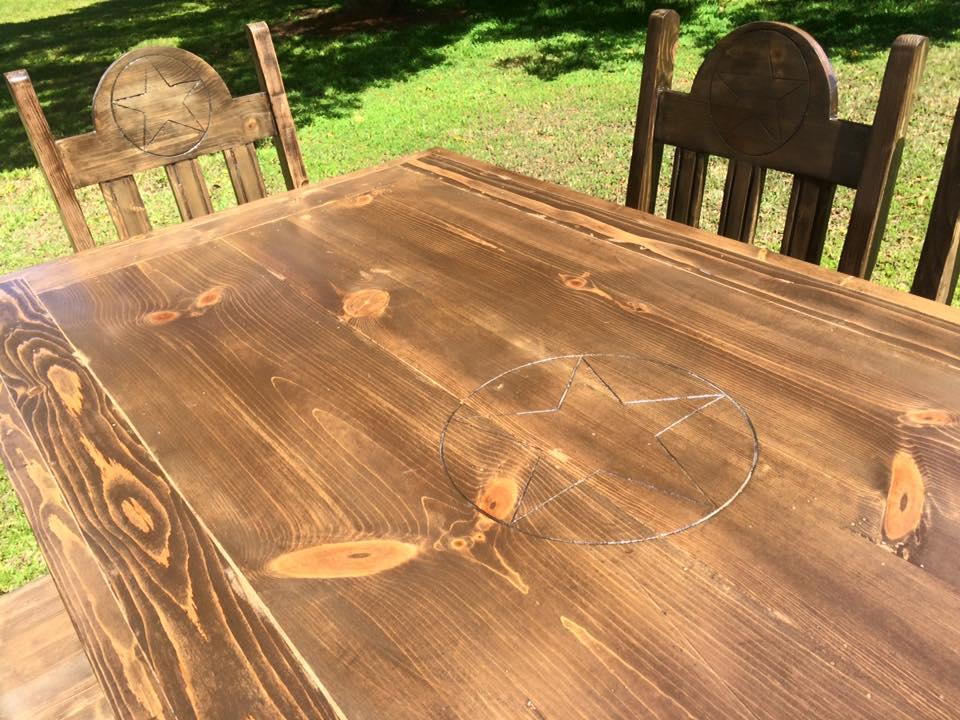 Texas Star Dining Table Set Elon S