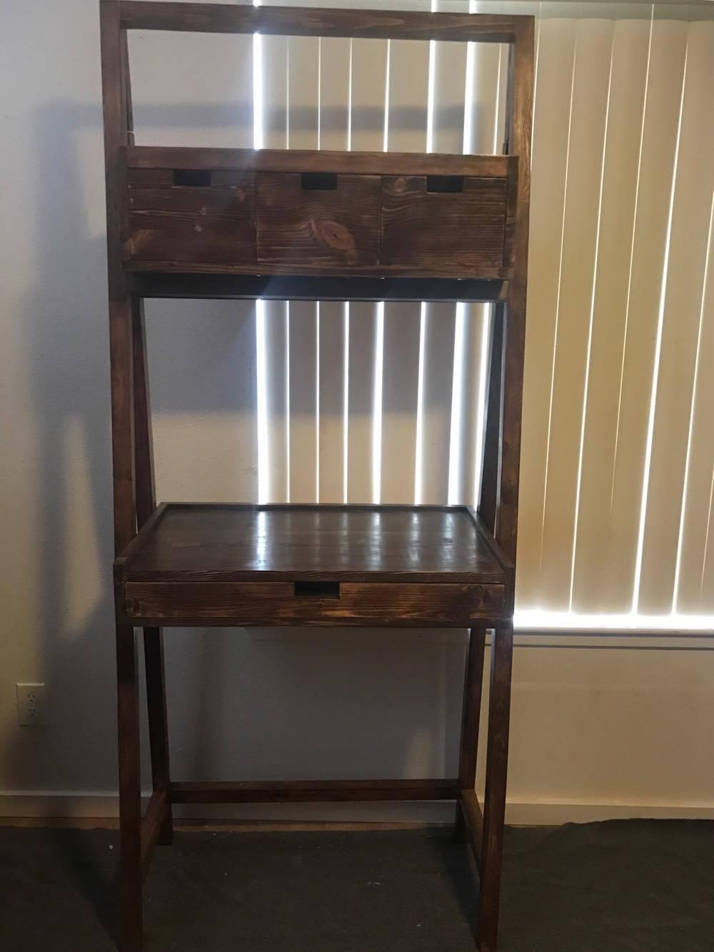 ross ladder desk and ladder shelf elon s